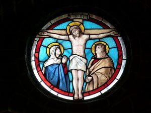 イエスキリストのステンドグラス